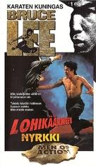 Tang shan da xiong - Finnish VHS movie cover (xs thumbnail)