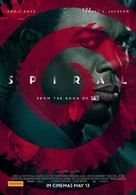 Spiral: From the Book of Saw - Australian Movie Poster (xs thumbnail)