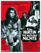 Frau Wirtin hat auch eine Nichte - German Movie Poster (xs thumbnail)
