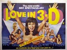Liebe in drei Dimensionen - Movie Poster (xs thumbnail)