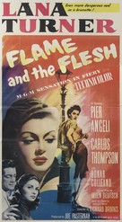 Flame and the Flesh - Movie Poster (xs thumbnail)