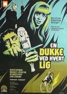 The Psychopath - Danish Movie Poster (xs thumbnail)