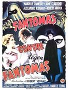 Fantômas contre Fantômas - Belgian Movie Poster (xs thumbnail)