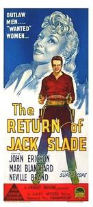 The Return of Jack Slade - Australian Movie Poster (xs thumbnail)