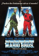 Super Mario Bros. - Spanish Movie Poster (xs thumbnail)