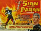Sign of the Pagan - British Movie Poster (xs thumbnail)