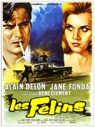 Les félins - French Movie Poster (xs thumbnail)