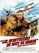 High Road to China - French Movie Poster (xs thumbnail)