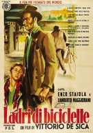 Ladri di biciclette - Italian Movie Poster (xs thumbnail)