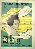 La reina del Chantecler - Romanian Movie Poster (xs thumbnail)