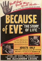 Because of Eve - Movie Poster (xs thumbnail)