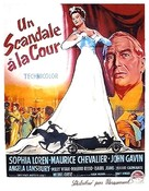 A Breath of Scandal - French Movie Poster (xs thumbnail)
