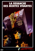 La revanche des mortes vivantes - French DVD cover (xs thumbnail)