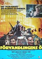 The Island of Dr. Moreau - Swedish Movie Poster (xs thumbnail)