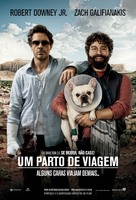 Due Date - Brazilian Movie Poster (xs thumbnail)