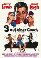 Three on a Couch - German Movie Poster (xs thumbnail)