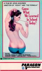 Guess What We Learned in School Today? - VHS cover (xs thumbnail)