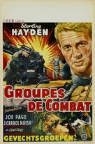 Fighter Attack - Belgian Movie Poster (xs thumbnail)