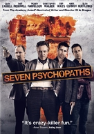 Seven Psychopaths - DVD movie cover (xs thumbnail)