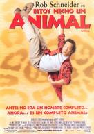 The Animal - Spanish Movie Poster (xs thumbnail)