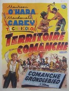 Comanche Territory - Belgian Movie Poster (xs thumbnail)