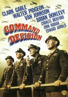 Command Decision - DVD cover (xs thumbnail)