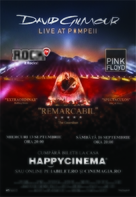 David Gilmour Live at Pompeii - Romanian Movie Poster (xs thumbnail)
