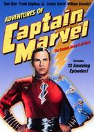 Adventures of Captain Marvel - DVD cover (xs thumbnail)