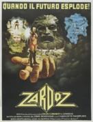 Zardoz - Italian Theatrical movie poster (xs thumbnail)