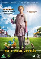 Britt-Marie var här - Swedish DVD movie cover (xs thumbnail)