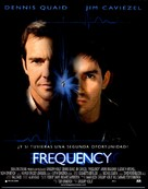 Frequency - Spanish Movie Poster (xs thumbnail)