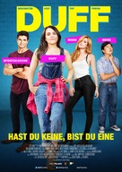 The DUFF - Swiss Movie Poster (xs thumbnail)