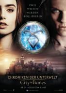 The Mortal Instruments: City of Bones - German Movie Poster (xs thumbnail)