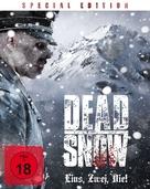 Død snø - German Blu-Ray cover (xs thumbnail)