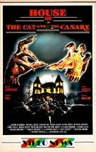 The Cat and the Canary - German VHS cover (xs thumbnail)