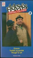 """""""Fleksnes fataliteter"""" - Norwegian VHS cover (xs thumbnail)"""
