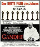 Gandhi - German Movie Poster (xs thumbnail)