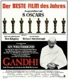 Gandhi - German Movie Poster (xs thumbnail)
