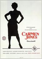 Carmen Jones - German Movie Poster (xs thumbnail)