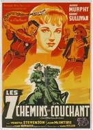 Seven Ways from Sundown - French Movie Poster (xs thumbnail)