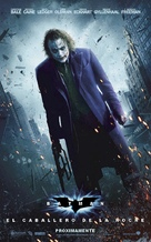 The Dark Knight - Argentinian Movie Poster (xs thumbnail)