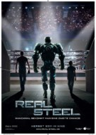 Real Steel - German Movie Poster (xs thumbnail)