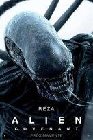 Alien: Covenant - Spanish Movie Poster (xs thumbnail)