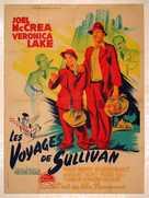 Sullivan's Travels - French Movie Poster (xs thumbnail)
