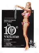 La decima vittima - French Movie Poster (xs thumbnail)