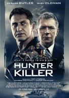 Hunter Killer - British Movie Poster (xs thumbnail)