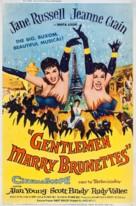 Gentlemen Marry Brunettes - Movie Poster (xs thumbnail)