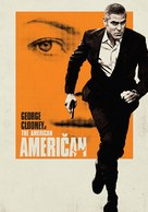 The American - Slovenian Movie Poster (xs thumbnail)