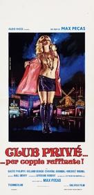 Club privé pour couples avertis - Italian Movie Poster (xs thumbnail)