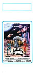 La guerra dei robot - Italian Movie Poster (xs thumbnail)